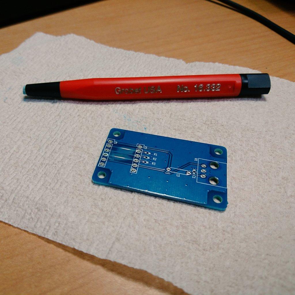 Fibreglass Pen and PCB